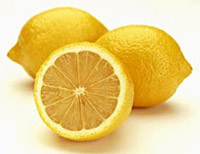 Fresh Lemon for Nail Care